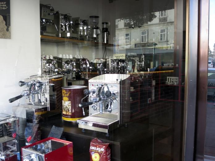 wien, espresso machine company